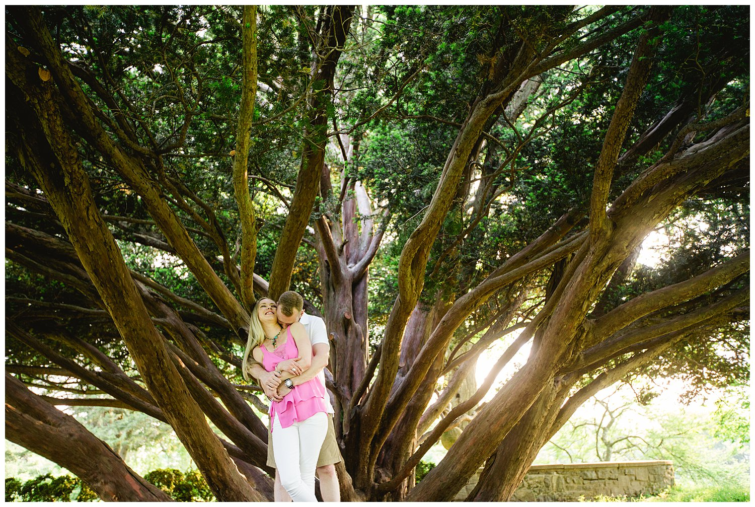 Elizabeth and Joe Engaged, Skylands New Jersey Botanical Gardens ...